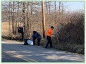 road side litter