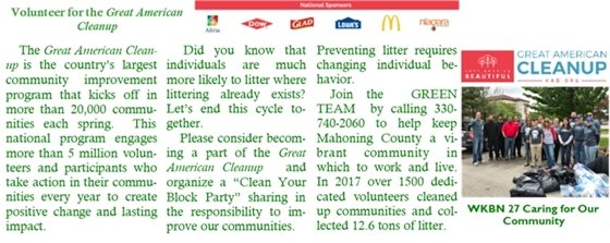 Great American Clean Up