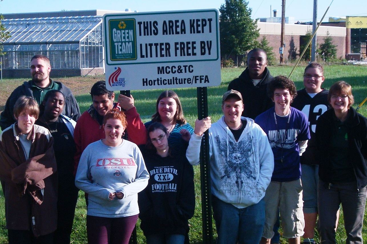 MCC and TC Horticulture and FFA Adopt-a-Spot