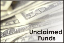 unclaimed funds buttons