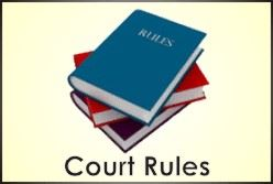 court rules button